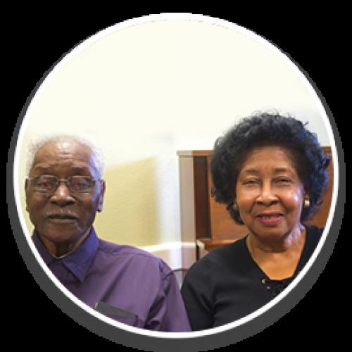 Elder Willie Mayes Jr., Rosa Lee Thomas (his sister)