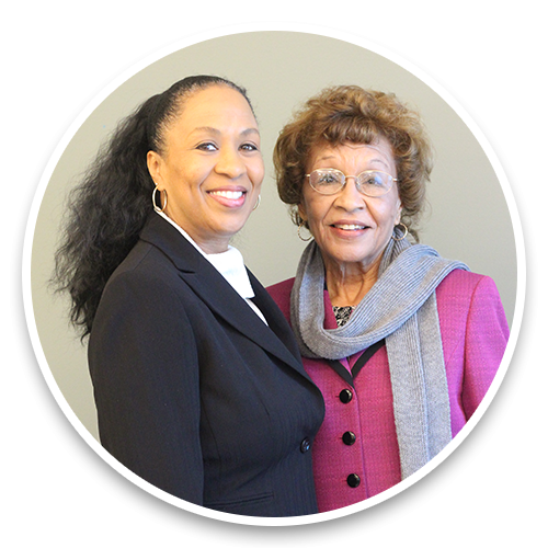 Dr. Harriet Moore and Estella Moore-Thomas